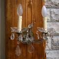 Настенное бра на 2 лампы