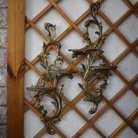 Декоративные настенные полочки пара