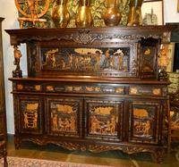 Старинный буфет в бретонском стиле