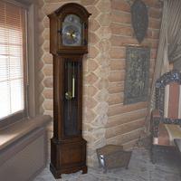 Часы напольные в стиле прованс
