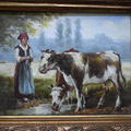 """Триптих картин """"Пастушка"""""""