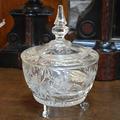 Хрустальная ваза с крышкой