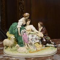 """Антикварная статуэтка от """"Scheibe-Alsbach"""""""