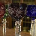 Набор цветных бокалов из 6 -ти штук