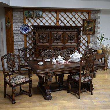 Антикварный столовый гарнитур