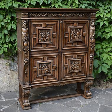 Шкаф в стиле Брейгеля