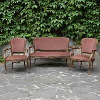 Комплект мягкой мебели в стиле Луи XV