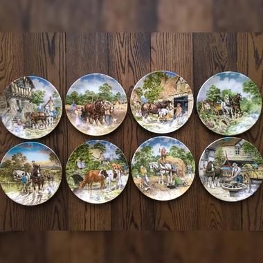 "Коллекция декоративных тарелочек из серии ""Life on the Farm"""