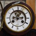 Антикварный часовой гарнитур в стиле Наполеон III