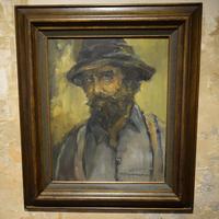 """Картина """"Портрет мужчины"""" в раме"""
