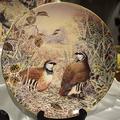 """Настенные тарелочки """"Дикие птицы Британии"""" (Gamebirds of Britain collection)"""