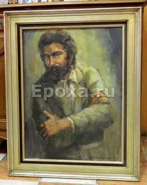 """Картина в раме """"Портрет мужчины"""""""